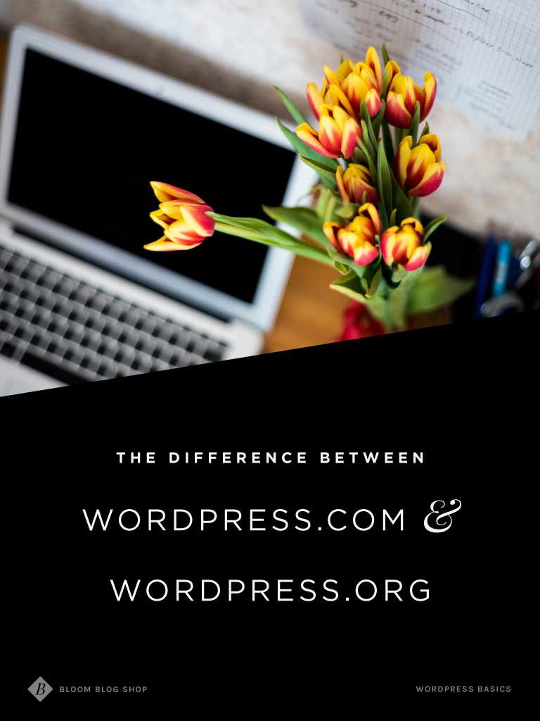 What's the difference between WordPress.com vs. WordPress.org?