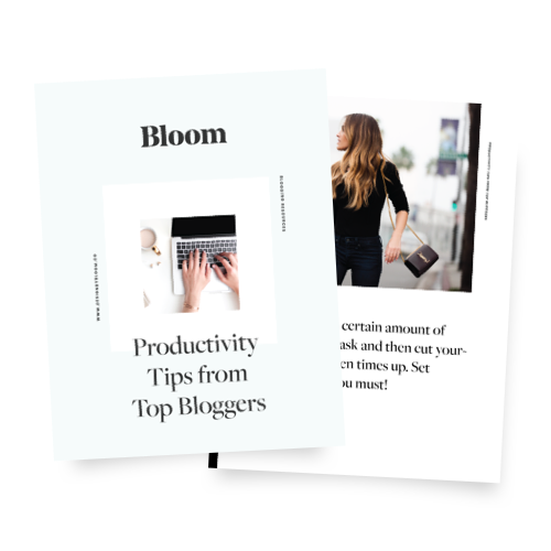 Productivity Tips From Top Bloggers