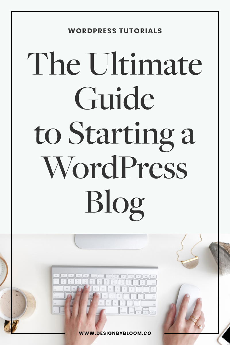 Starting a #WordPress blog is not as difficult as you may think! I lay out a simple, step-by-step (just three!) outline of how to start your #blog, from hosting to domain and on to design.