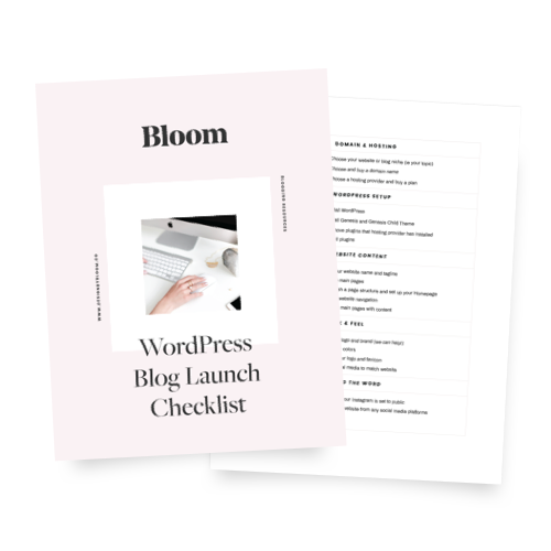 WordPress Blog Launch Checklist