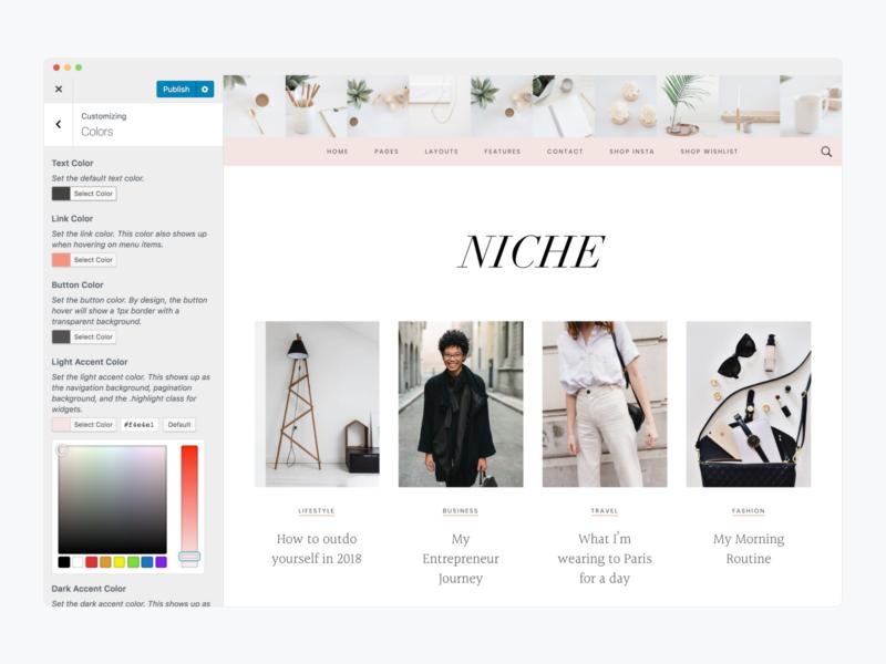 Niche Pro Genesis Child WordPress Theme