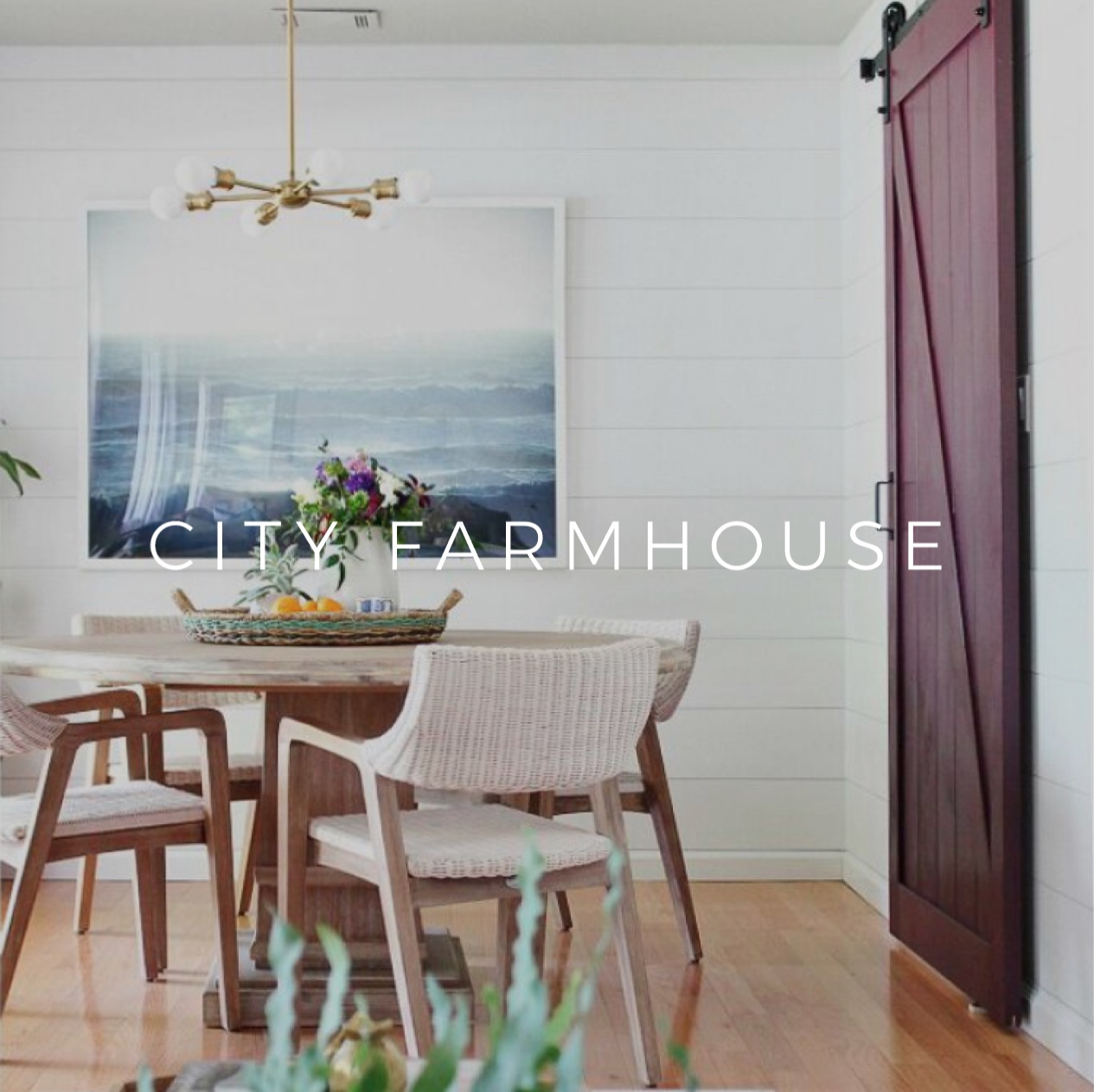 City Farmhouse Website & Ecommerce Design Interior Design