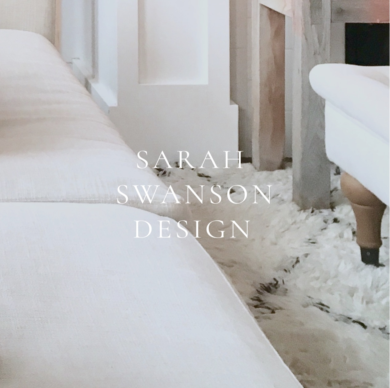 Sarah Swanson Interior Design Website Design